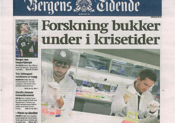 Featured image for the post The biodream in Bergen – BerGenBio against the current in midst of financial crisis