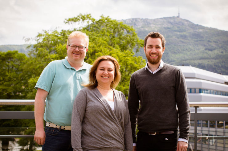 Nils-Eivind Holmedal, Malgorzata Barczyk and Steffen Boga are happy for the allocations.