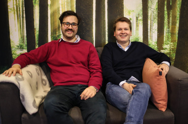 The founders of Crescat, Matteo Blomberg Ghini and Jørgen Iden