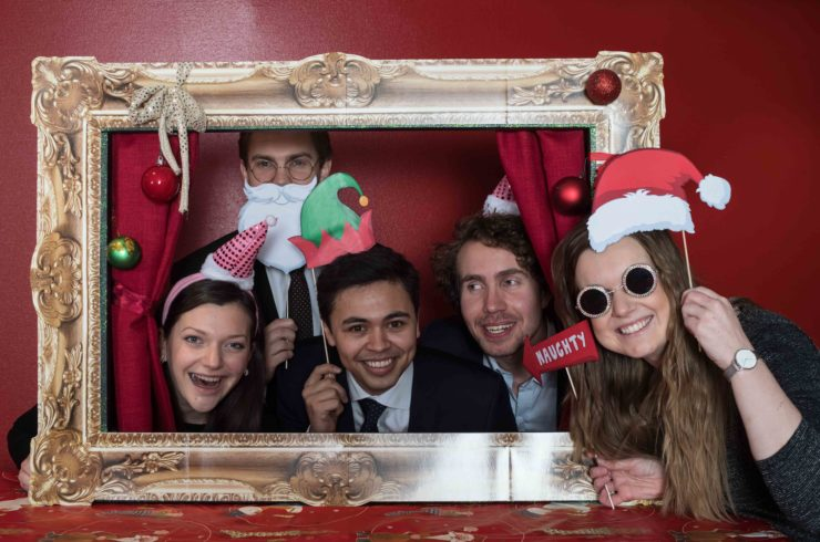 Picture from photo booth with the last interns.