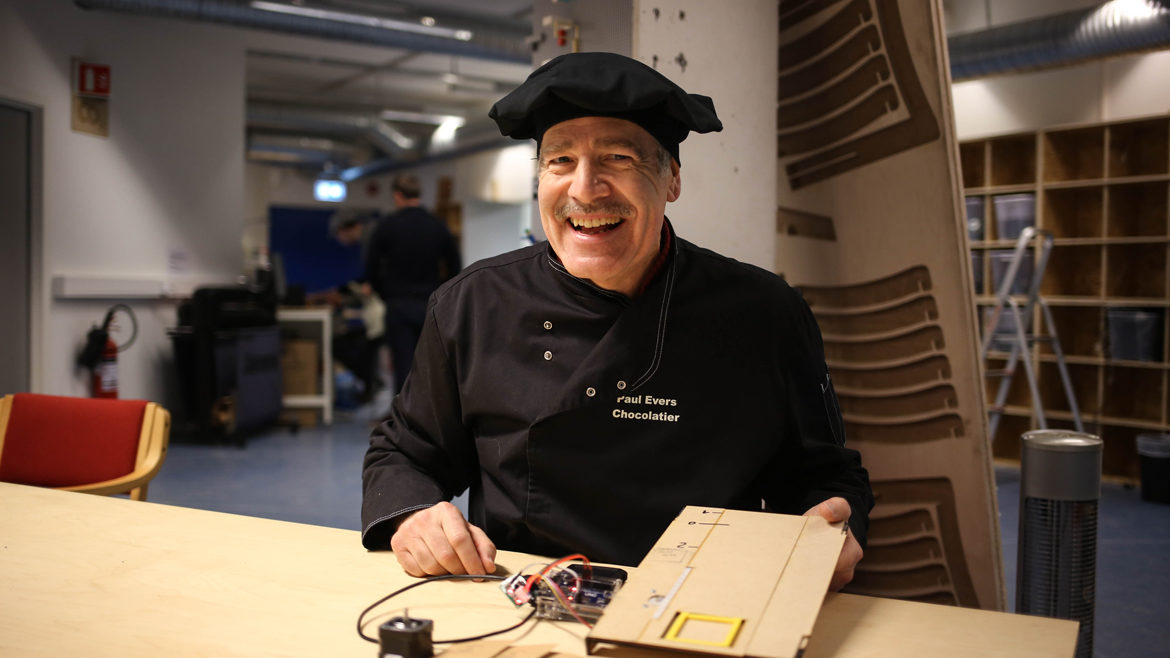 Featured image for the post Meet the inspiring people in Marineholmen Makerspace