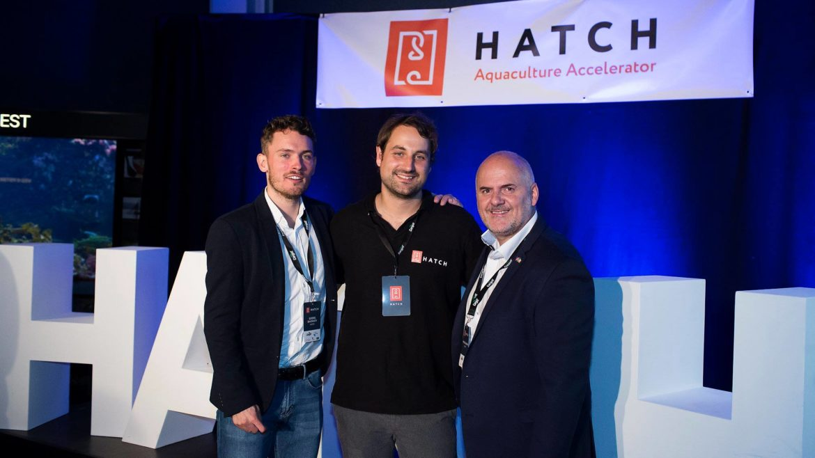 Parts of the Hatch team. Georg Baunach (Head of Programs), Carsten Krome (CEO) and Wayne Murphy (COO).