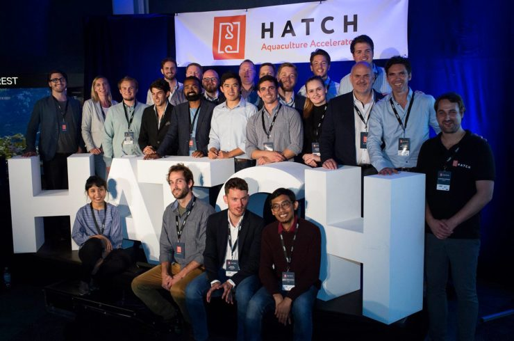 Hatch companies gathered at the graduation.