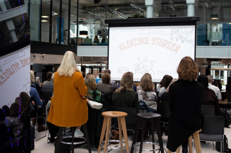 The event was popular and gathered over 100 participants in Media City Bergen.
